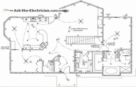 household wiring diagram symbols