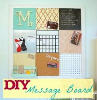 How to Make a Message Board - Ask Anna