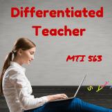 Diffeentiated Teacher