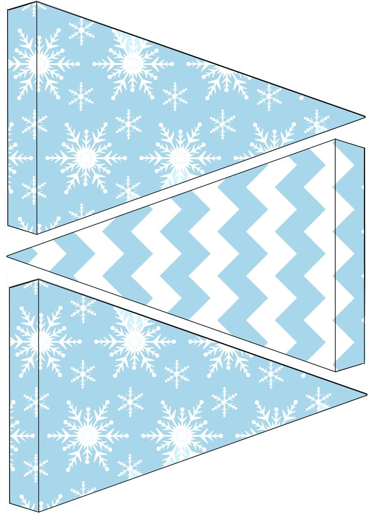 Birthday Decoration  Free frozen birthday party bunting to download