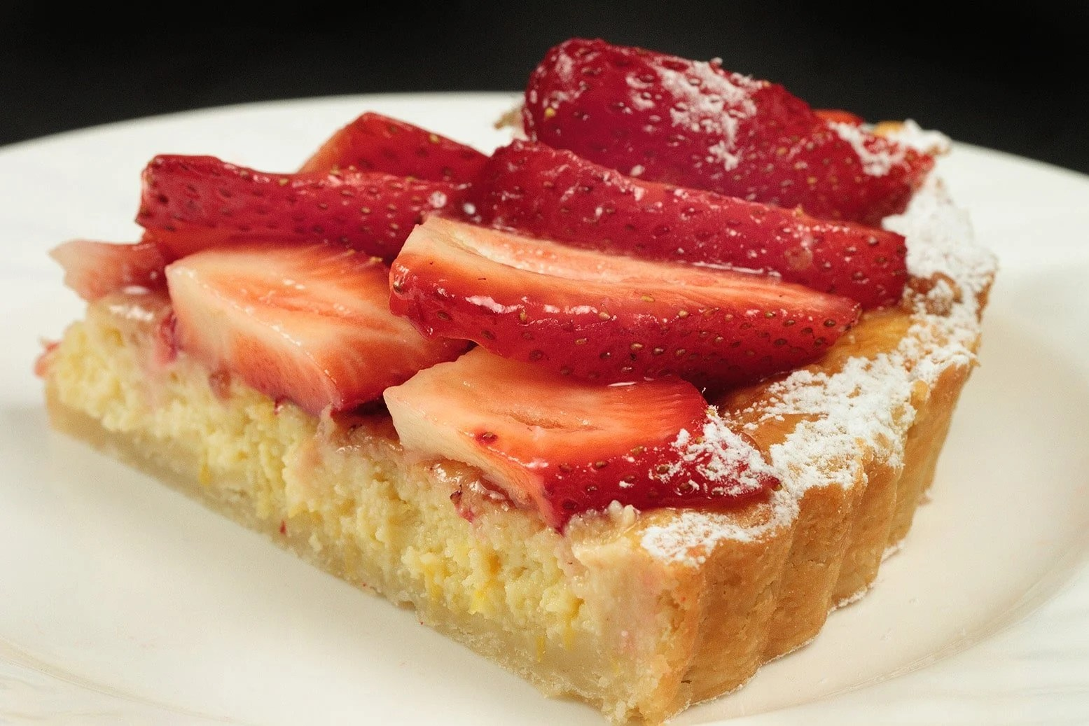 Italian Strawberry Ricotta Crostata Recipe Chef Dennis