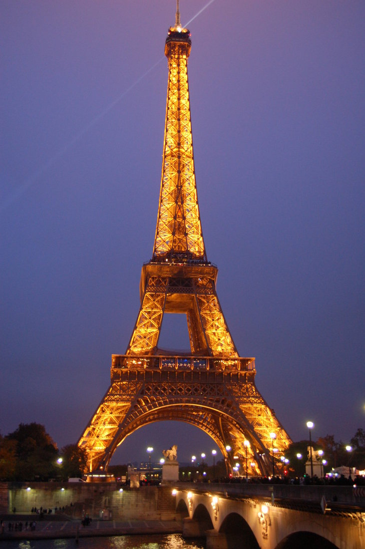 Photo Stock Paris 30 Eiffel Tower At Night Images