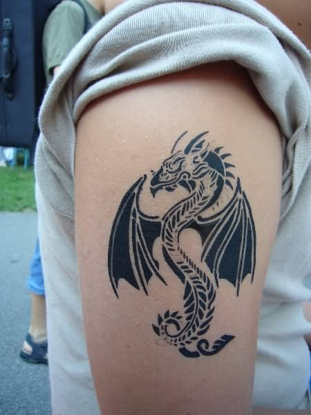 Drachen Tattoos Oberarm 51+ New Airbrush Tattoos Ideas