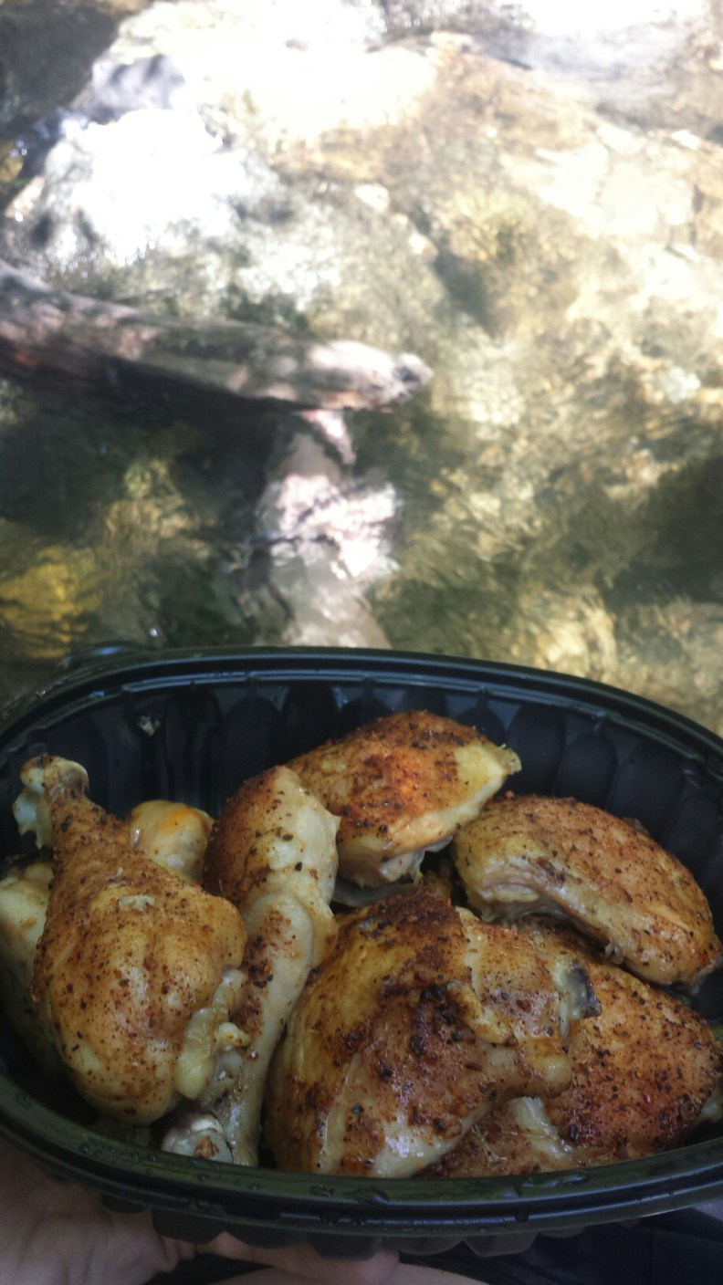 Chicken picnic and Lithia Creek