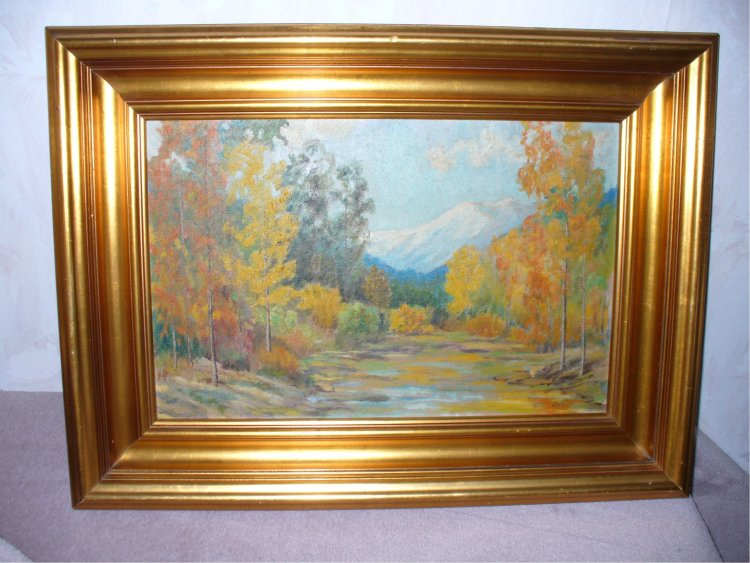 The Colvin Co Can You Identify This Painting ? Is It Valuable?