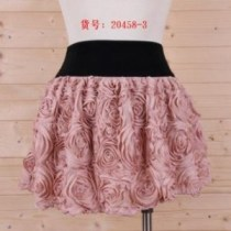 Waist Band Mini Skirts