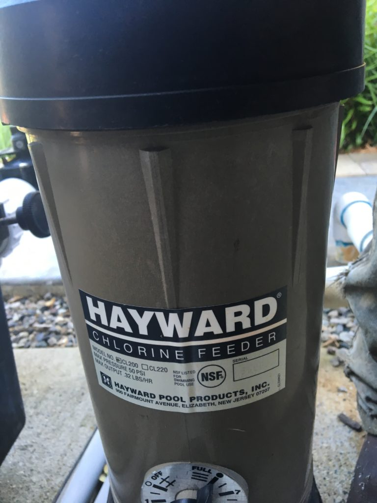 Jacuzzi Pool Chlorinator My Hayward Chlorinator Lid With The Black Top Is Leaking Ask The