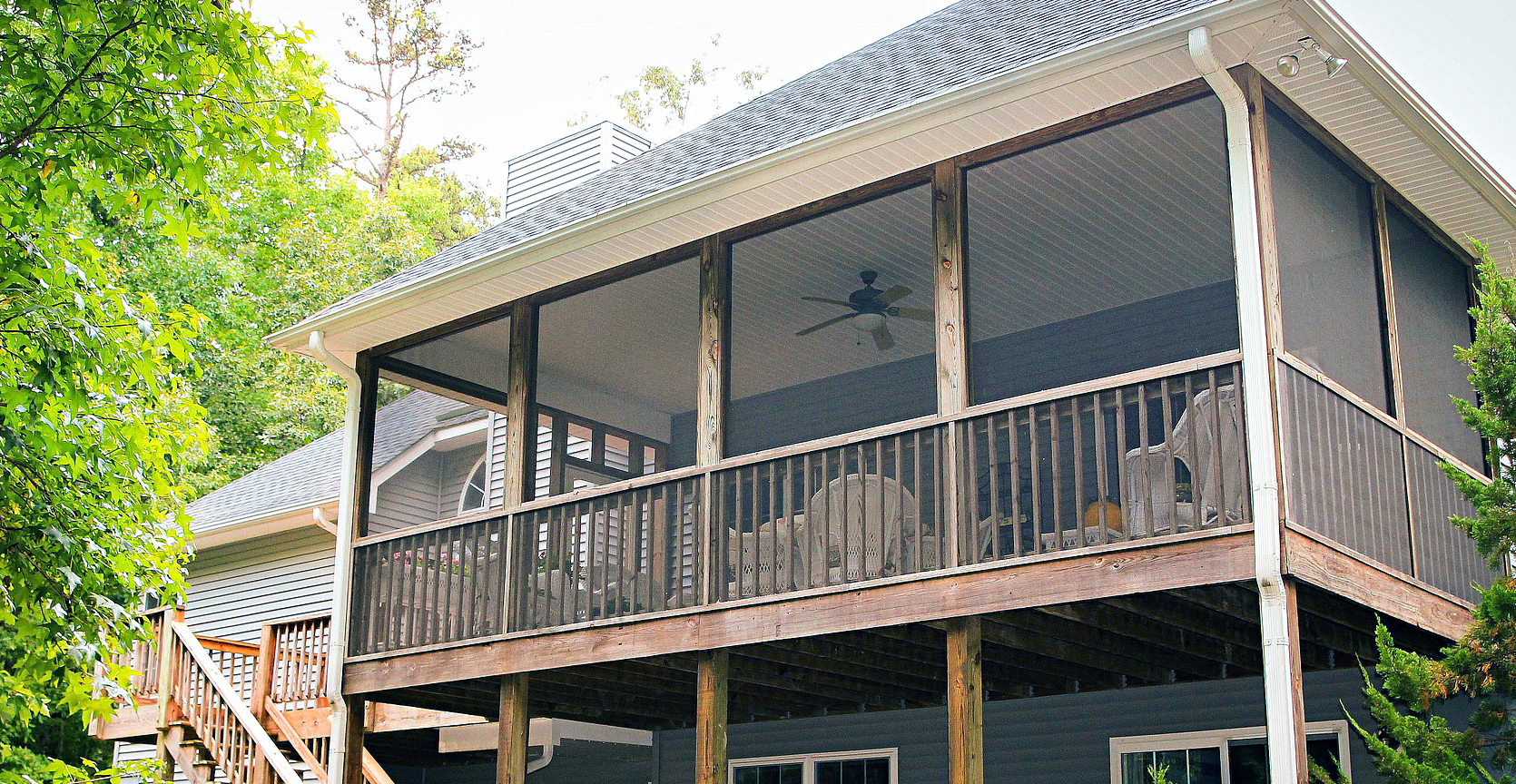 Enjoy The Summer Breeze With These Clever Screened In Porch Ideas Life S Dirty Clean Easy