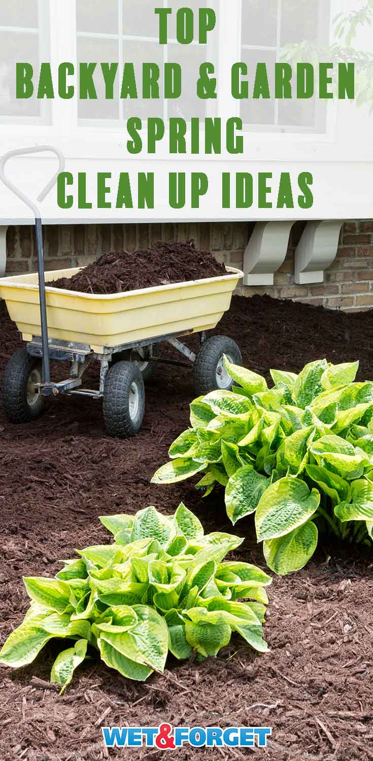 Backyard Clean Up Ask Wet Forget Organize The Backyard For Spring With These Handy