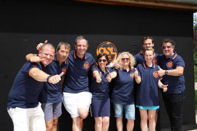 Les bénévoles de l'ASL Tennis Les Loges en Josas