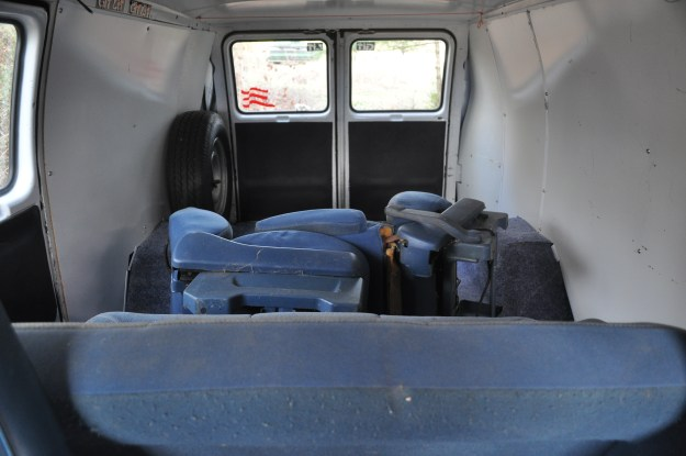 Van Before Interior