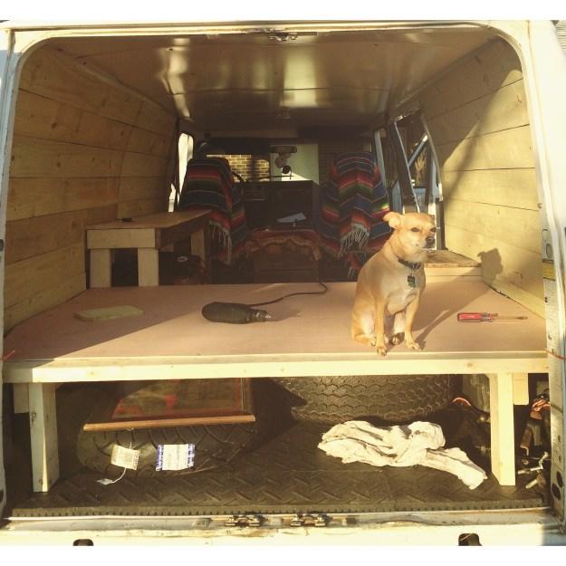 Custom Van buildout