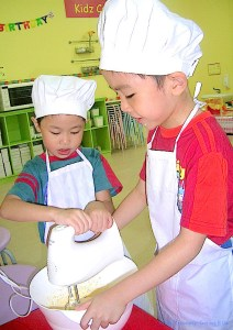 Teach your kids to bake at Genius R Us