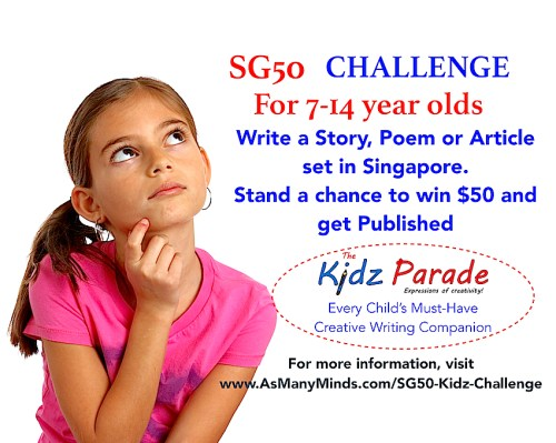 Creative Writing Challenge for Children. Get Published!