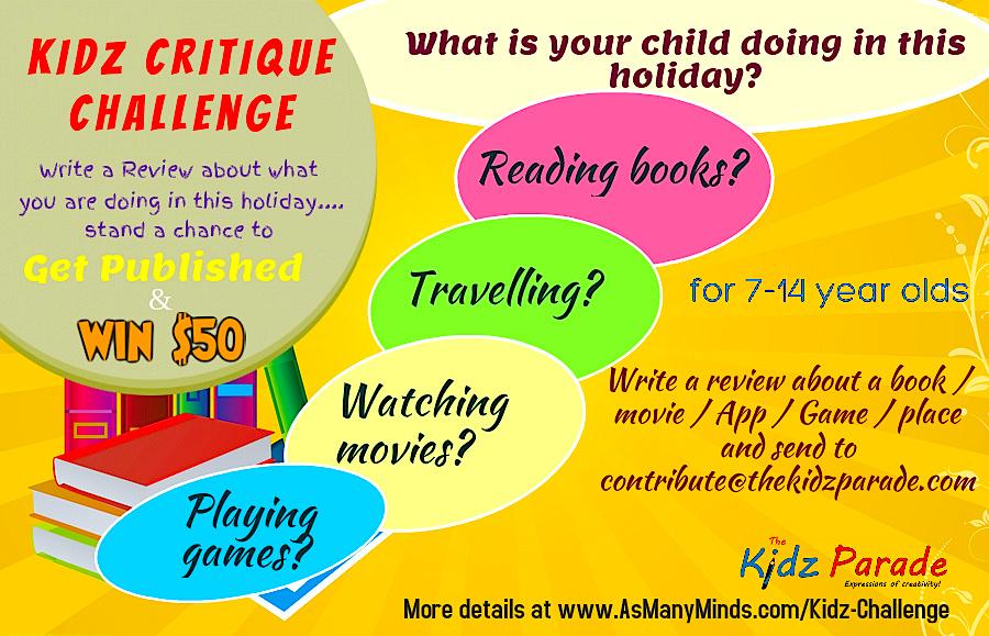 Kidz Critique Challenge