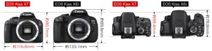 Canon公式より EOS Kiss X7