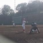 桐蔭横浜大学対東芝の練習試合