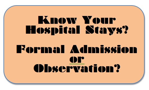 Aging Parents and Hospital Admission for Observations