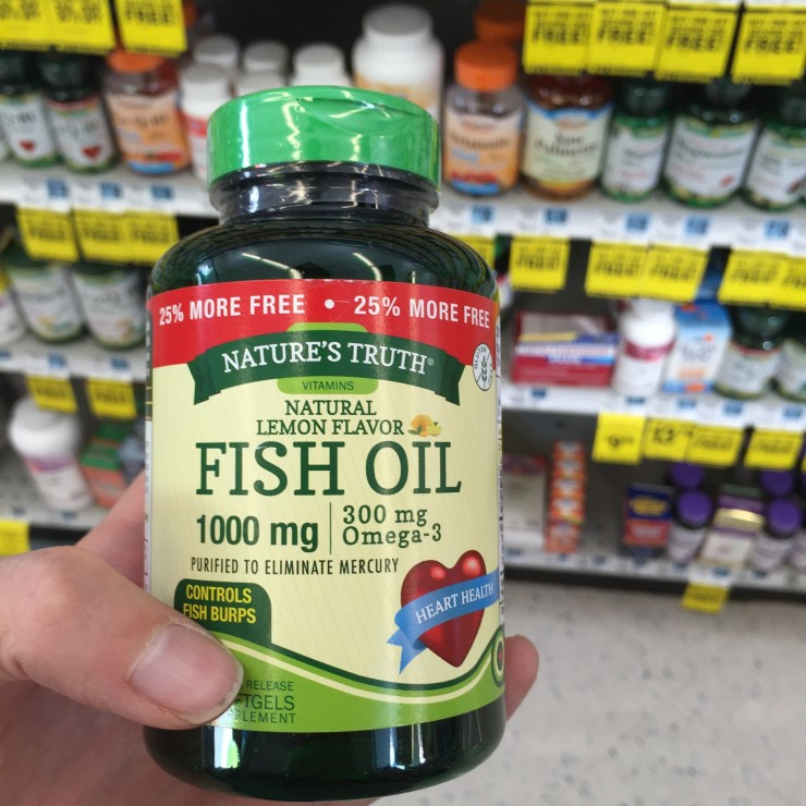 Health and wellness journal a southern mother for Rite aid fish oil