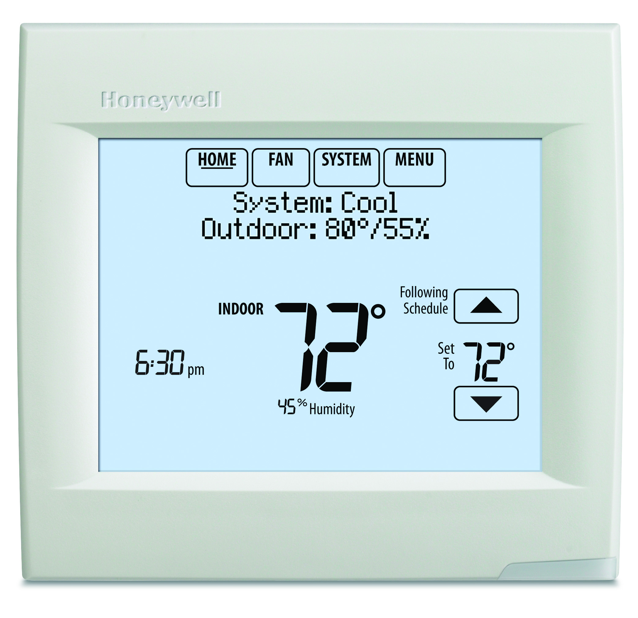 Honeywell Programmable Thermostat Honeywell Programmable 1h 1c Touchscreen Thermostat With Redlink