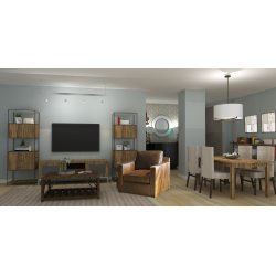 Small Crop Of Transitional Living Room