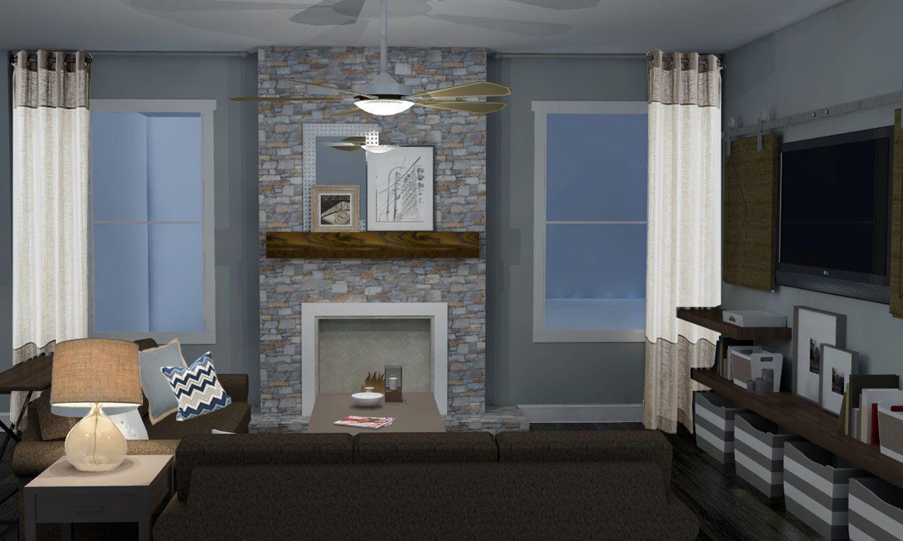 Amusing Rustic Living Room Ideas Rustic Fireplace Interior Design Ideas Living Room interior Modern Interior Design Ideas Living Room
