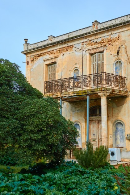 """the Palace"" in Halepa neighborhood in Chania"