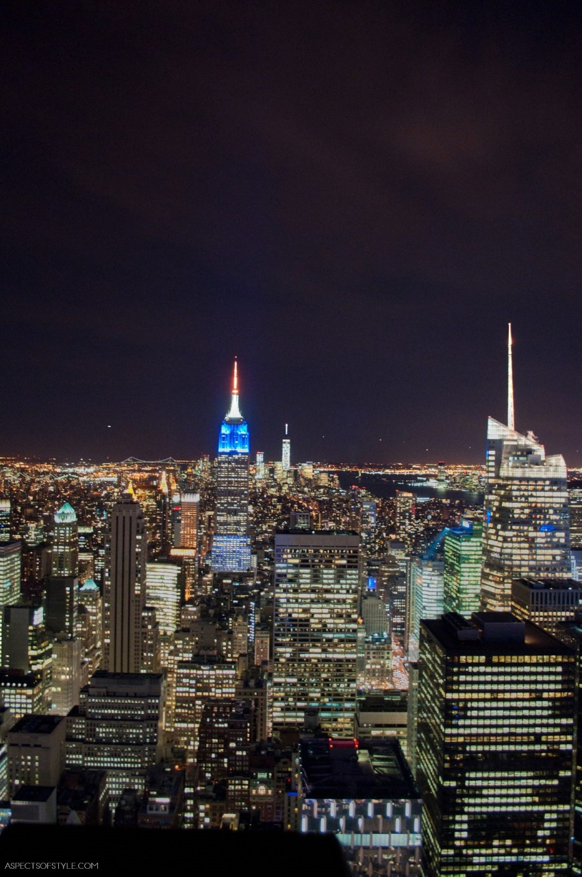 View from Top of the Rock, New York City