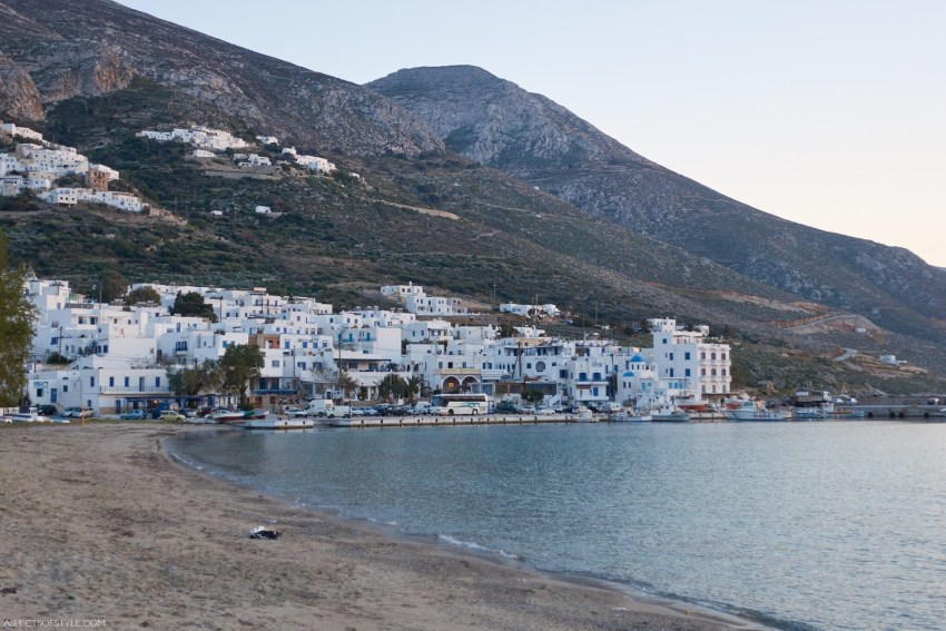 Aegiali, Amorgos, Greece