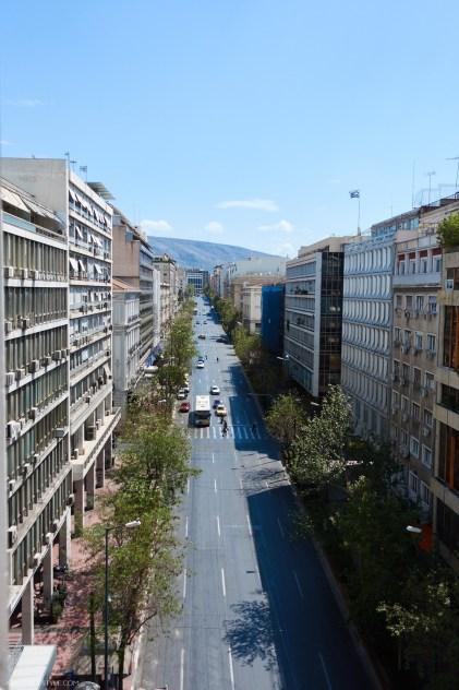 Panepistimiou street, Athens