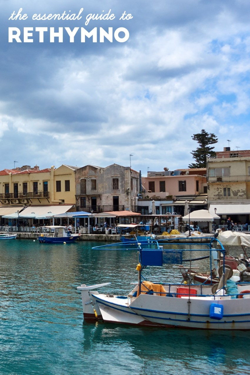 Essential Guide to Rethymno, Crete, Greece