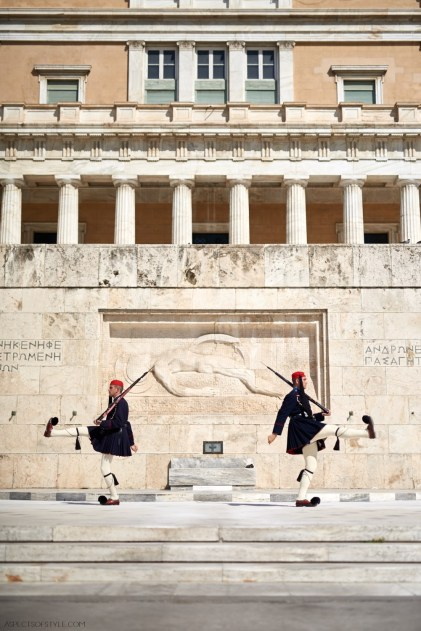 Change of the guards, Athens