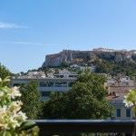 The Zillers roof garden, Athens