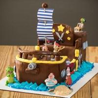 Jake and the Neverland Pirates Bucky Ship Cake  Aspen ...