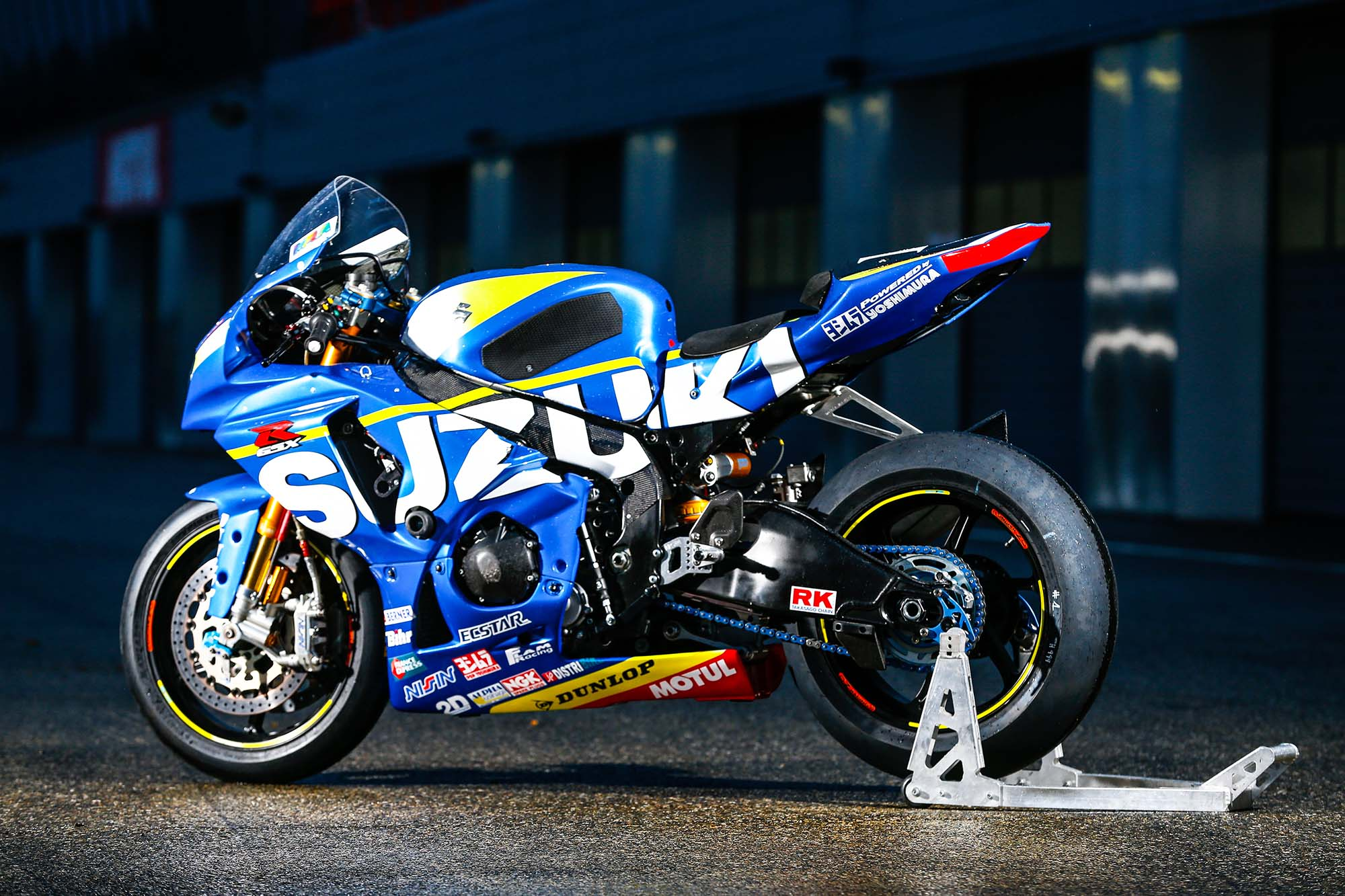 Racing Bike Sert Suzuki Gsx-r1000 World Endurance Race Bike