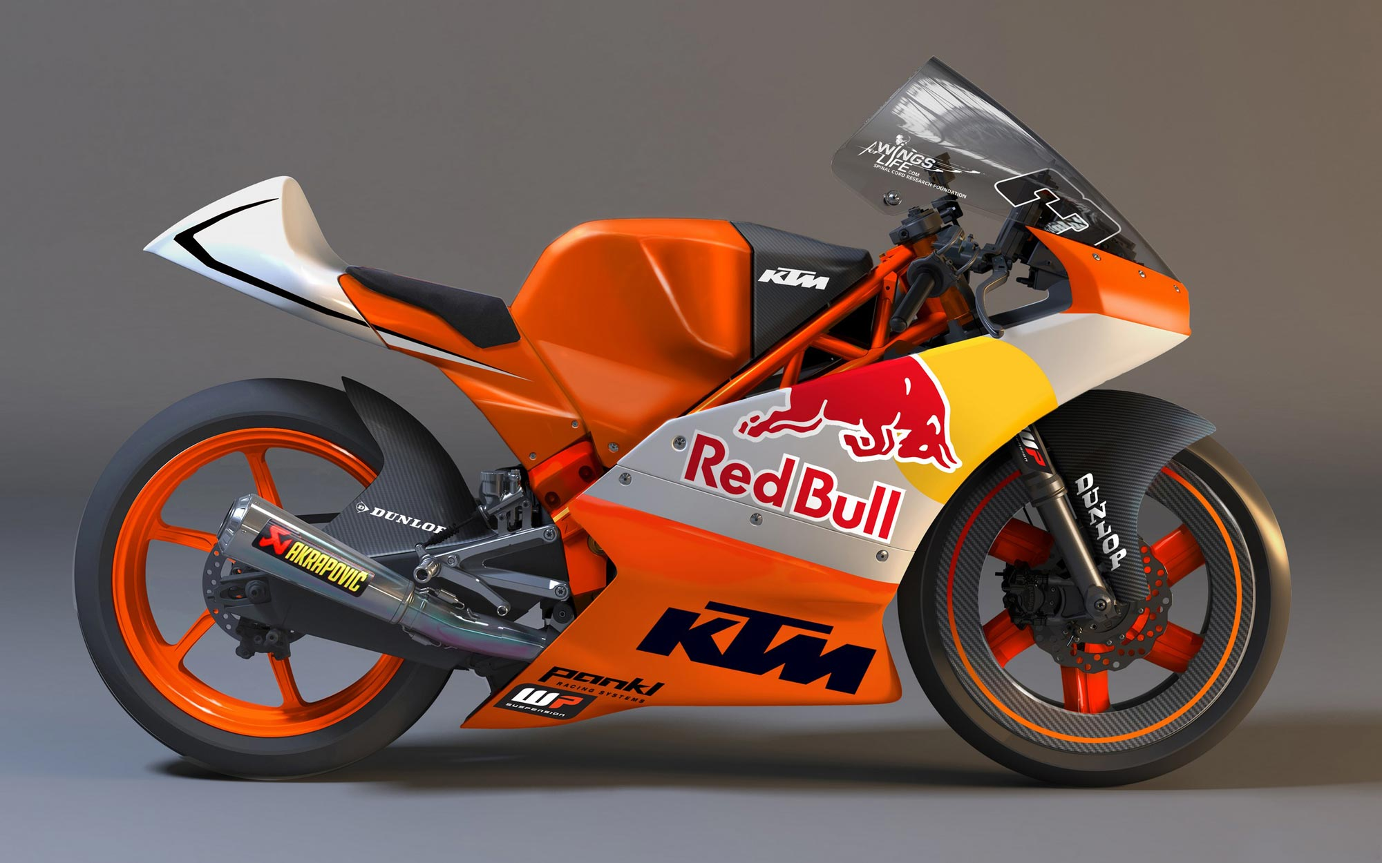Racing Bike First Look: Ktm Moto3 Race Bike - Asphalt & Rubber