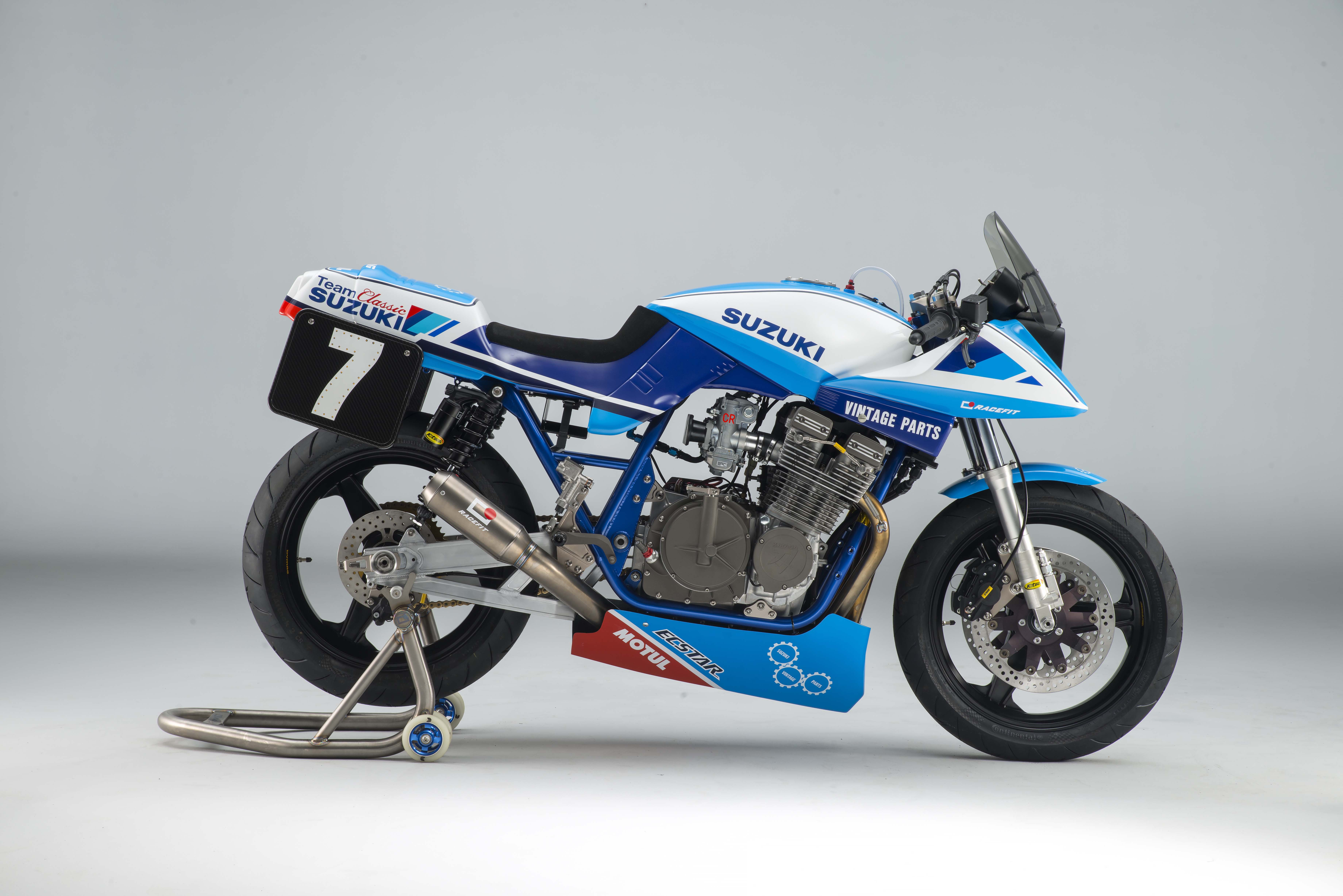 Racing Bike Mmm...check This Suzuki Gsx1100sd Katana Race Bike
