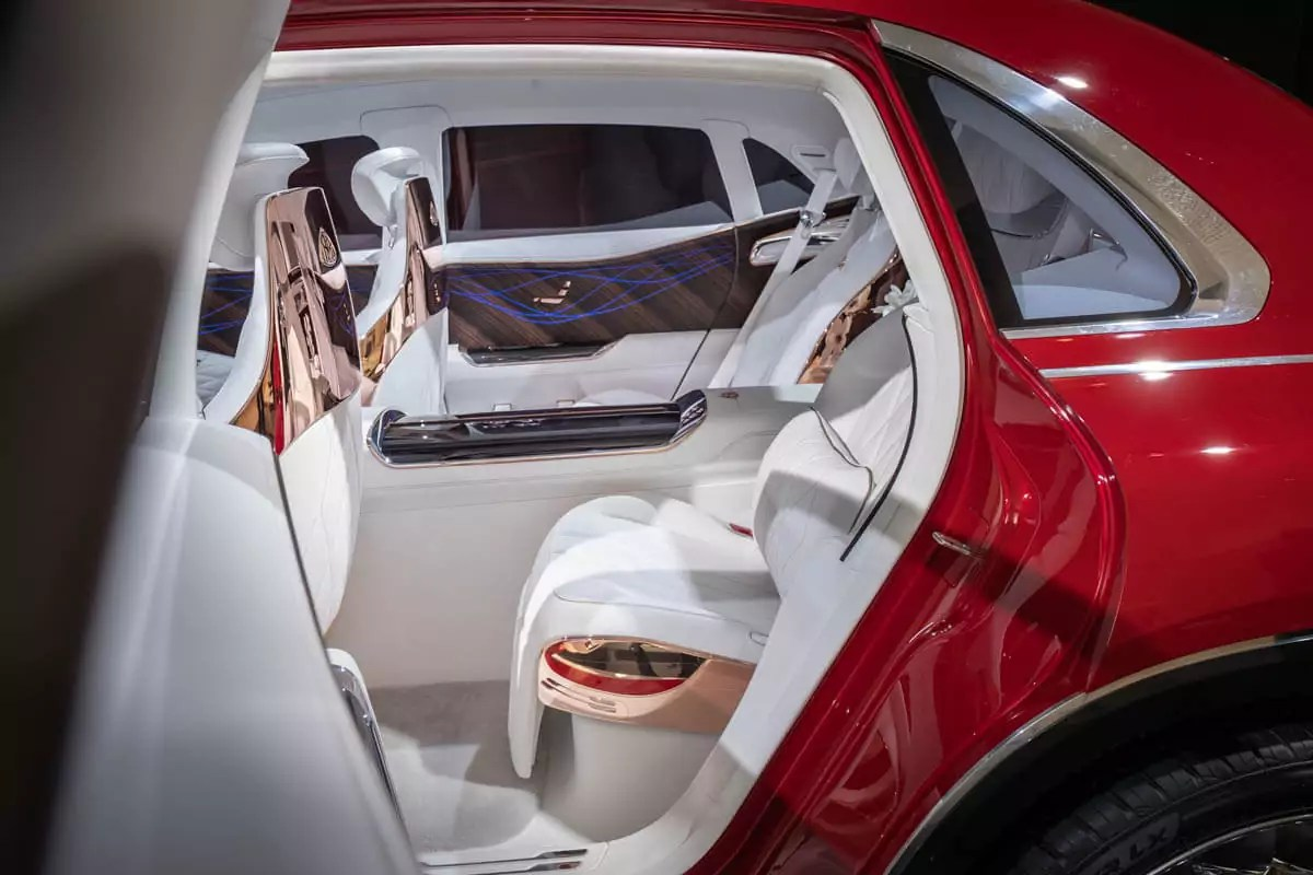 Mercedes C Interieur Vision Mercedes-maybach Ultimate Luxury – Asphalte.ch