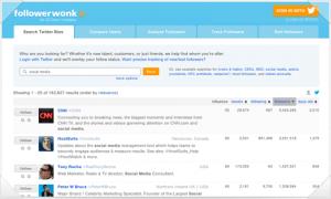 FollowerWork, recomendaciones de usuarios a seguir en Twitter por temas o intereses