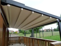 Patio Awnings Diy. Bespoke Retractable Canopies Roof ...