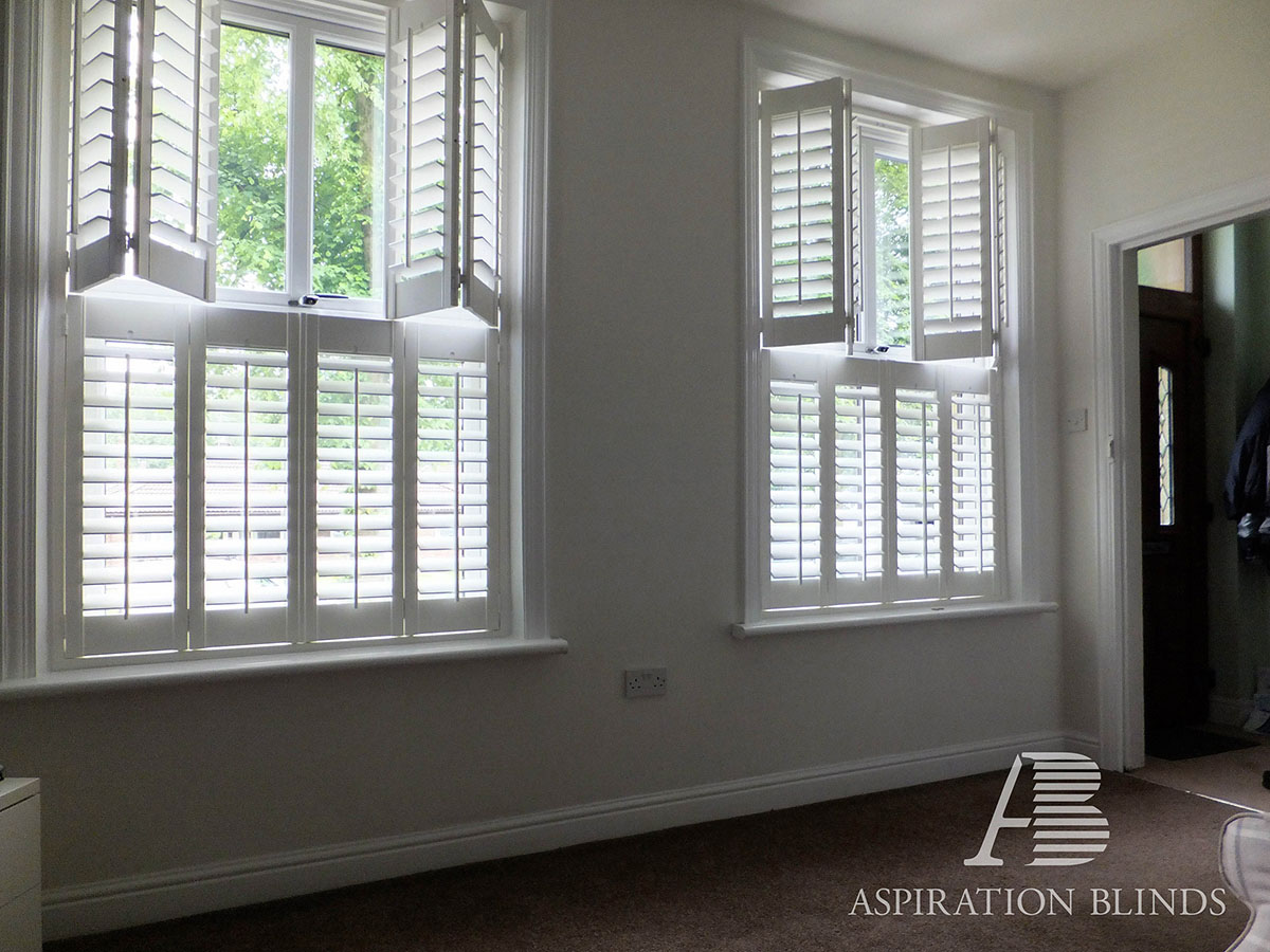 Half Window Blinds Tier On Tier Cafe Style Window Blinds By Aspiration Blinds