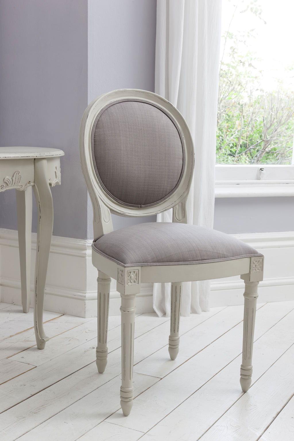 Maison Cool Maison Balloon Back Chair Cool Grey 5055299491263
