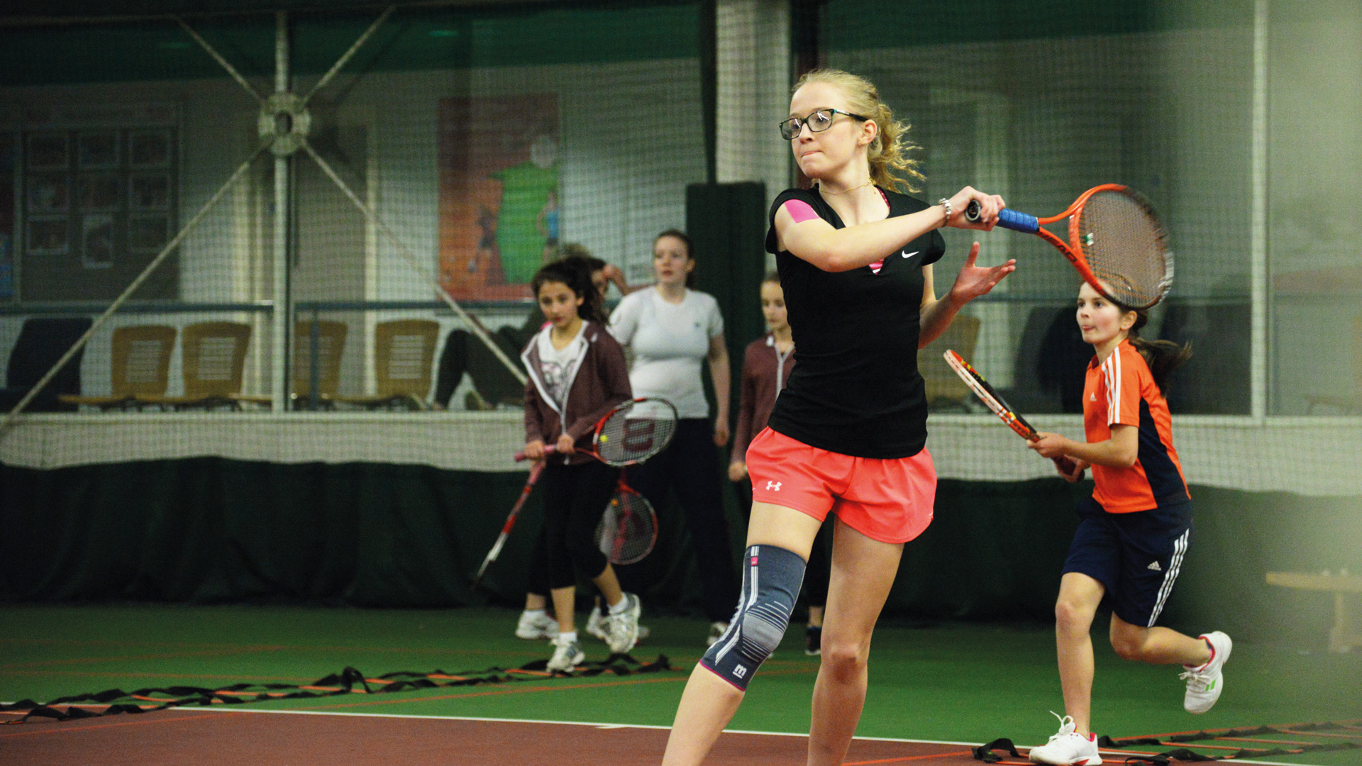 Tennis For Toddlers Tennis Lessons Coaching At Oxstalls Gloucestershire Aspire Trust