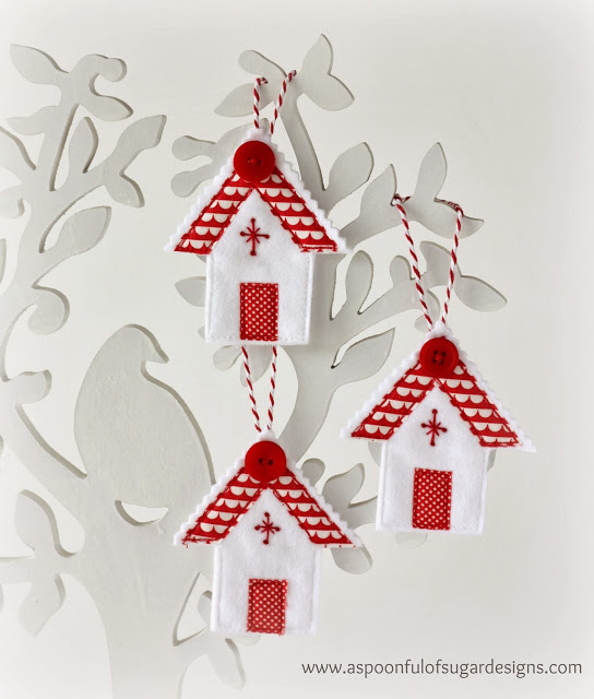 Christmas House Ornaments A Spoonful Of Sugar