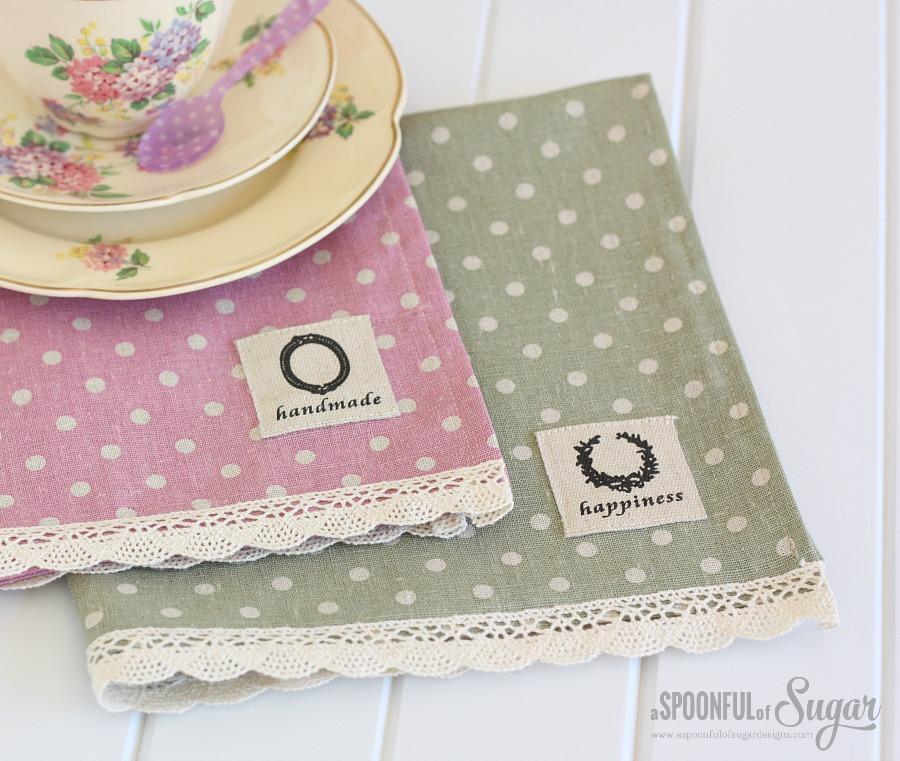Make your own cloth napkins