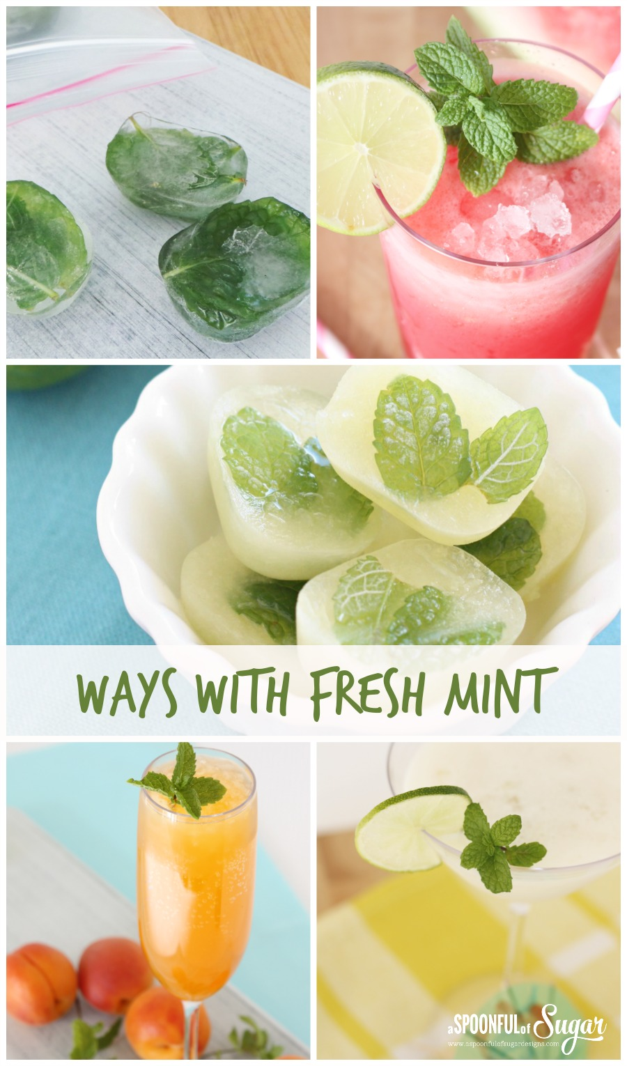 Ways with Fresh mint