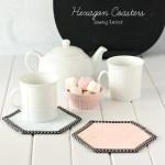 Hexagon Coasters 7