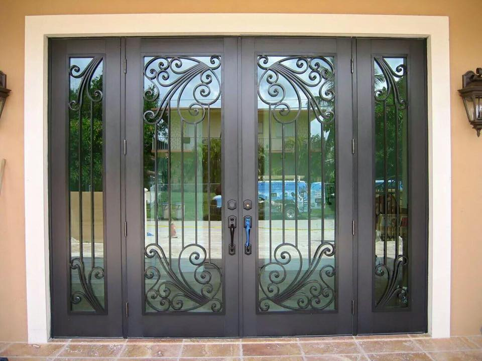Impact glass doors miami impact windows miami impact for Exterior doors miami