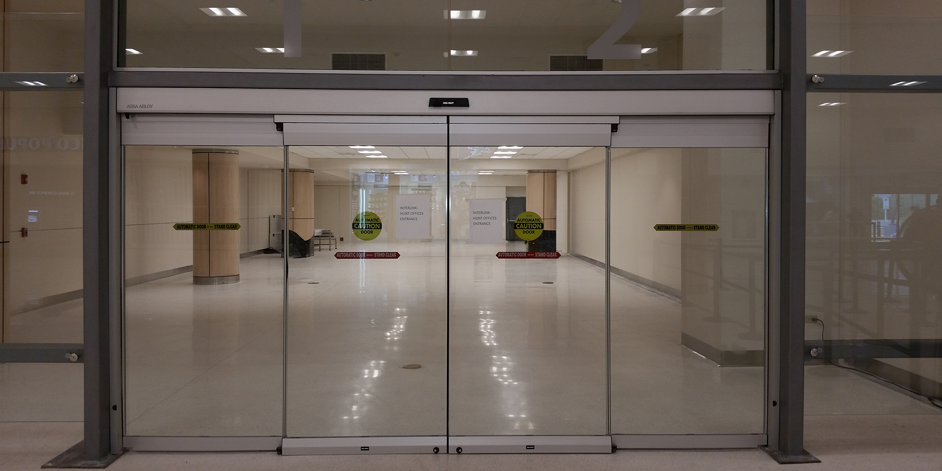 Entrance Doors Commercial Sliding Glass Entrance Doors Assa Abloy