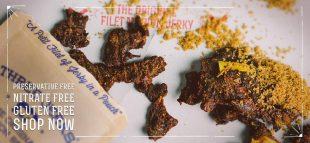 Three Jerks Filet Mignon Gourmet Beef Jerky Seen On Shark Tank